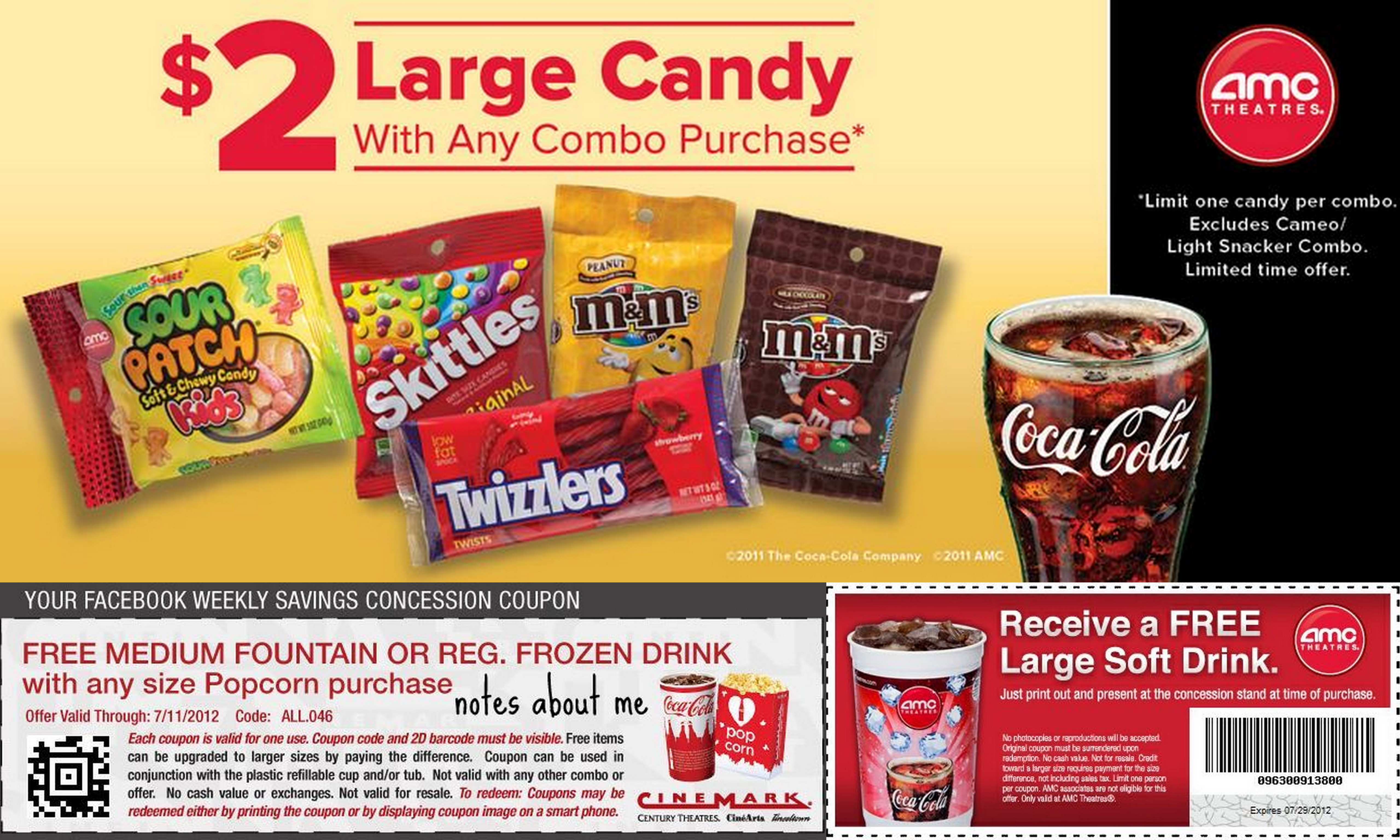 image regarding Amc Printable Coupons identified as Amc theater video clip ticket coupon codes - Tv set offers laptop worldwide