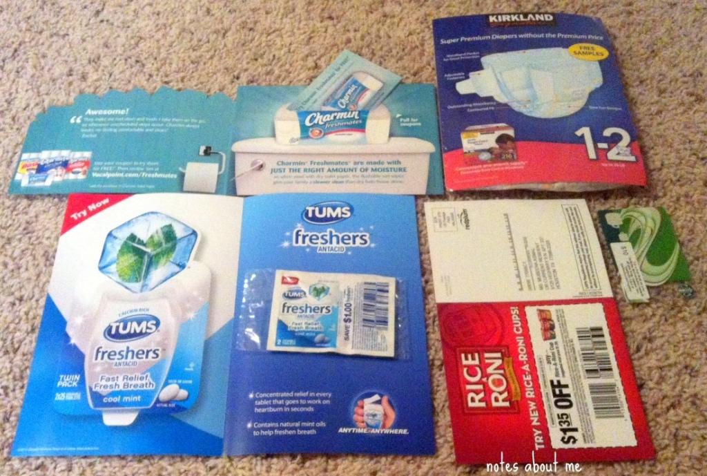 Mailbox Goodies 12-31-12