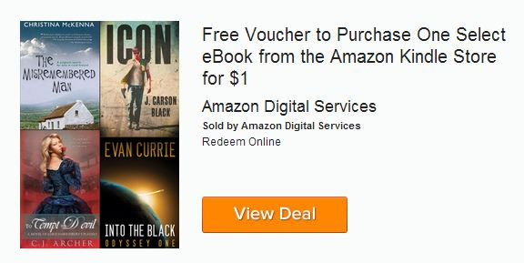 Amazon eBook Voucher