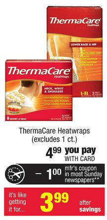 CVS Thermacare
