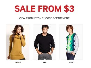 H&M Weekend sale
