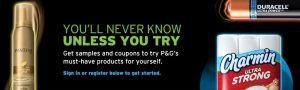 P&G Brand Sampler
