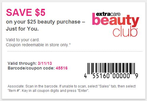 CVS Beauty Club Coupon