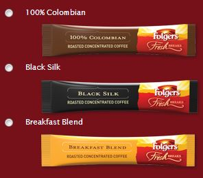 Folgers Coffee Sample